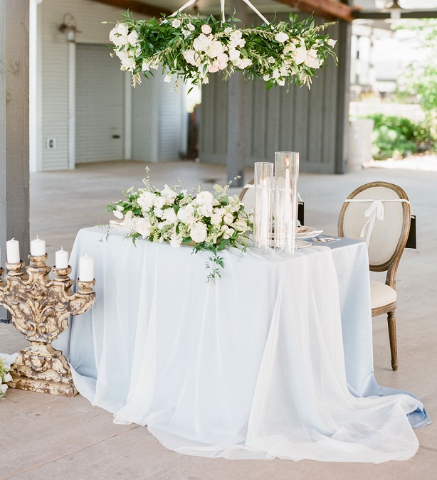 Ivory Voile Table Linen, Sheer Ivory Overlay