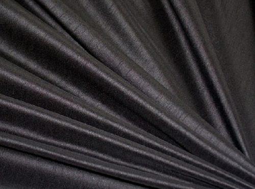 Black Dupioni Table Linen, Black Matte Table Cloth