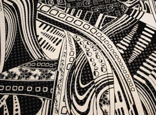 Black & White Pucci Table Linen