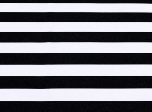 Black Stripe Table Linen