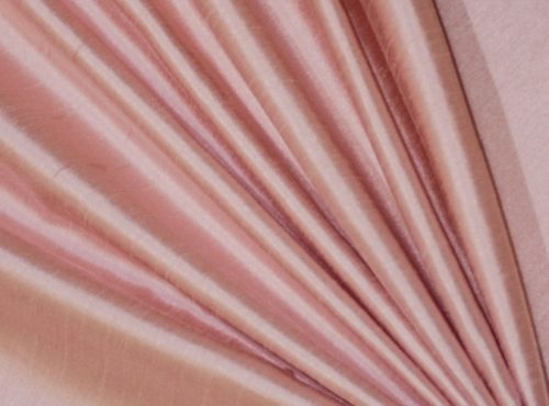 Blush Dupioni Table Linen, Light Pink Table Cloth