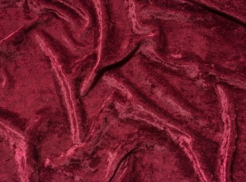 Burgundy Velvet Table Cloth, Red Crushed Velvet