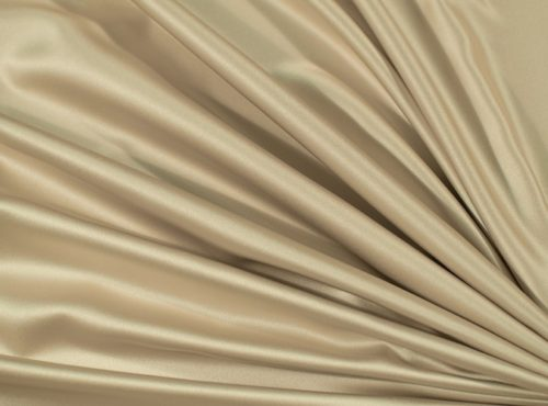 Champagne Lamour Table Linen, Gold Satin Table Cloth