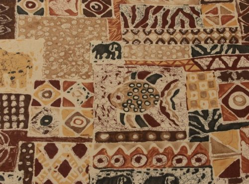 Congo Linen, African Table Linen, Safari Theme Table Linen