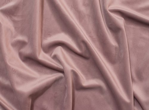 Dusty Rose Plush Velvet Table Linen, Pink Velvet Table Cloth