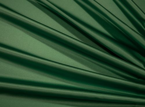Forest Green Lamour Table Linen, Dark Green Satin Table Cloth