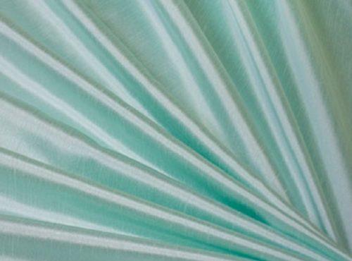Mint Dupioni Table Linen, Light Blue Table Cloth