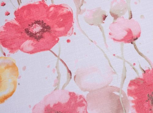 Monet Table Linen, Pink Floral Table Linen