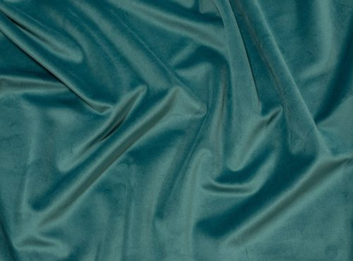 Ocean Blue Plush Velvet Table Linen, Teal Velvet Table Cloth