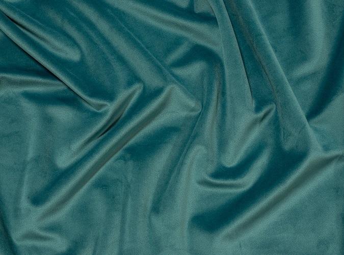 Ocean Blue Plush Velvet Table Linen, Teal Velvet Table Cloth