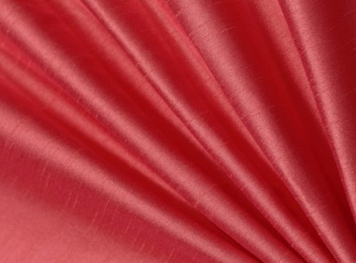 Peony Dupioni Table Linen, Pink Table Cloth