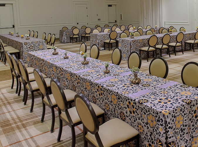 Posy Table Linen, Floral Table Cloth