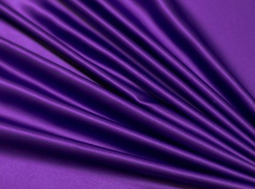 Purple Lamour Table Linen, Purple Satin Table Cloth