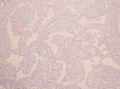 Rose Martinique Reversible Table Linen, Pink Paisley Table Cloth