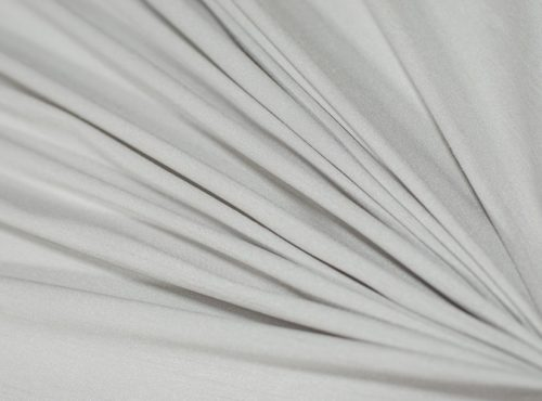 Silver Dupioni Table Linen, Light Grey Table Cloth