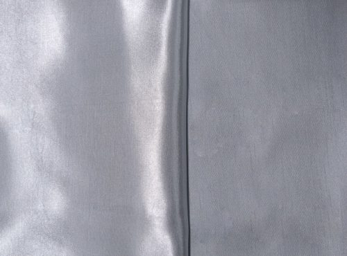 Silver Shantung Table Linen, Grey Shantung Table Cloth