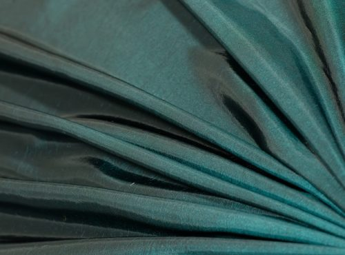 Teal Tafetta Table Linen, Turquoise Table Cloth