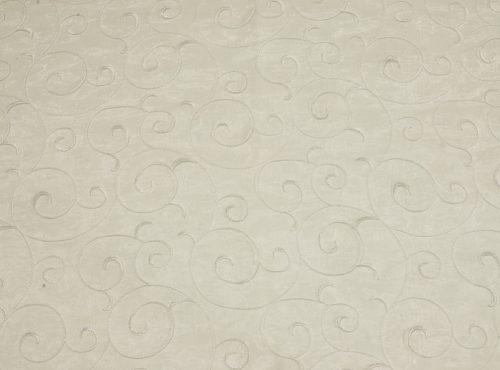 Vanilla Vine Organza Table Linen, Ivory Sheer Table Cloth
