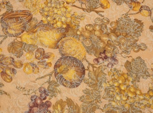 Tuscany Linen, Gold Damask Wine Detailed Linen