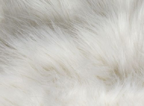 White Faux Fur