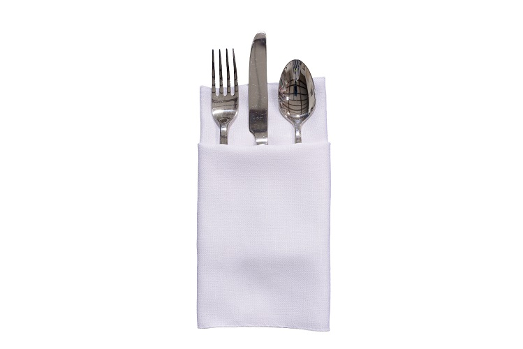 White Linnea Napkin, White Linen Napkin. #theNAPKINmovement