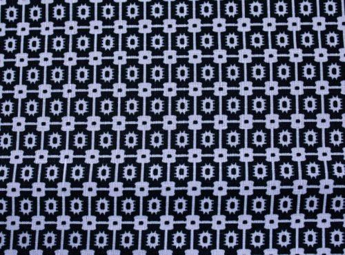 Black & White Santa Fe Napkin, Black Pattern Napkin, #theNAPKINmovement